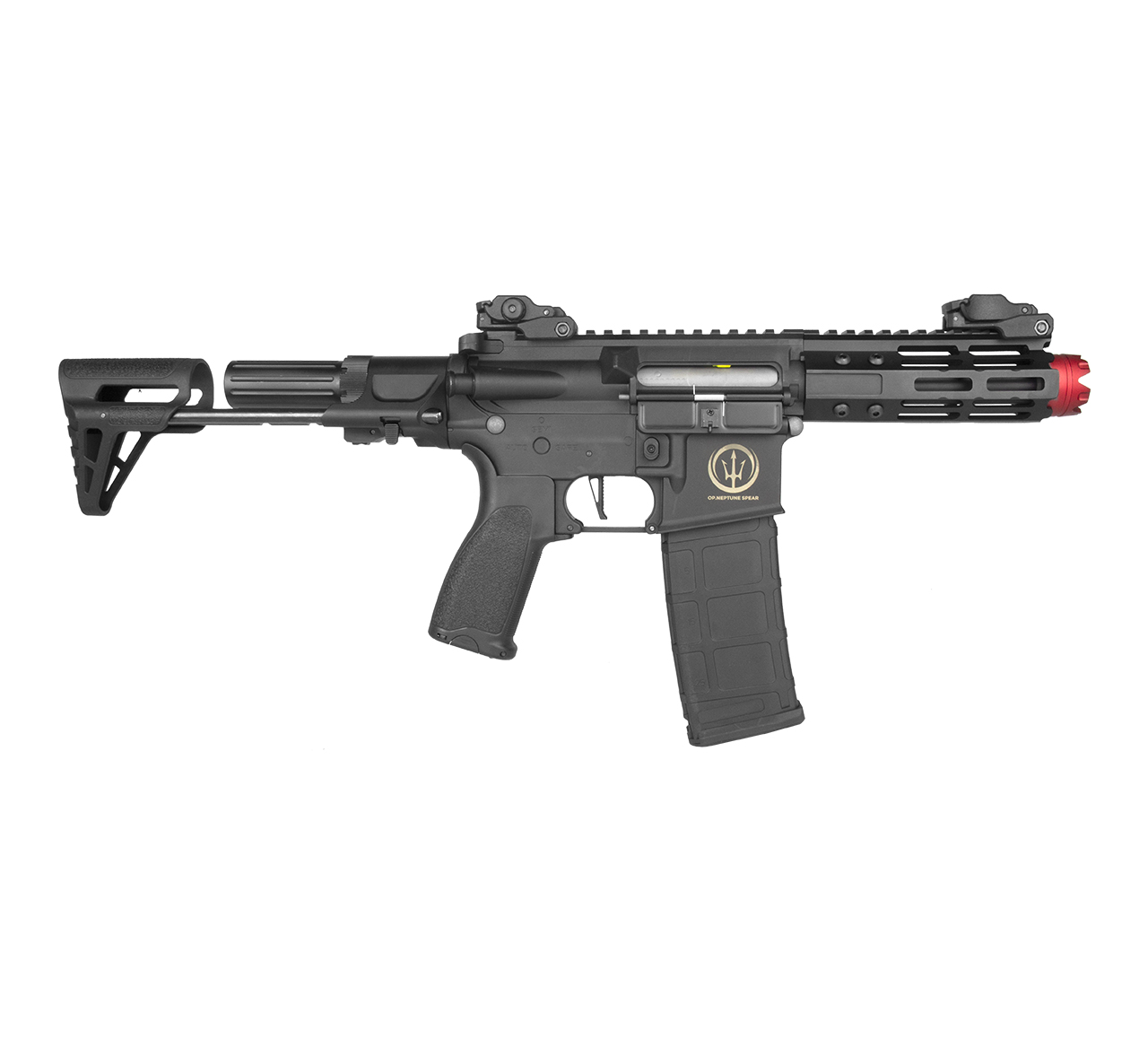 RIFLE AIRSOFT AR15 NEPTUNE KEYMOD PDW 6MM - ROSSI