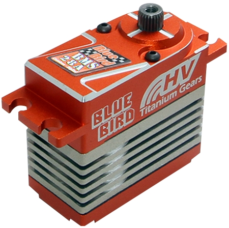SERVO BLUE BIRD BMS - 28A HV DIGITAL 7.4V 28kg BLUEBIRD