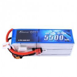 Bateria Gens ace 5500mAh 18.5V 45C 5S1P Deans Plug