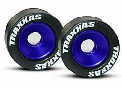 TRAX 5186A - Wheels, aluminum (blue-anodized) (2