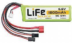 HCAM 6426 - Bateria LiFeSource LiFe 6.6V 1800mAh 10C Rx