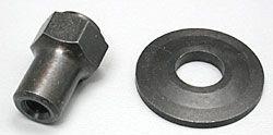 DAVE 8428 - Porca adaptadores 1/4 - 28 short