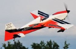 AEROMODELO 106 EDGE 540 V2 - ORANGE SCHEME 120CC EXTREME FLIGHT