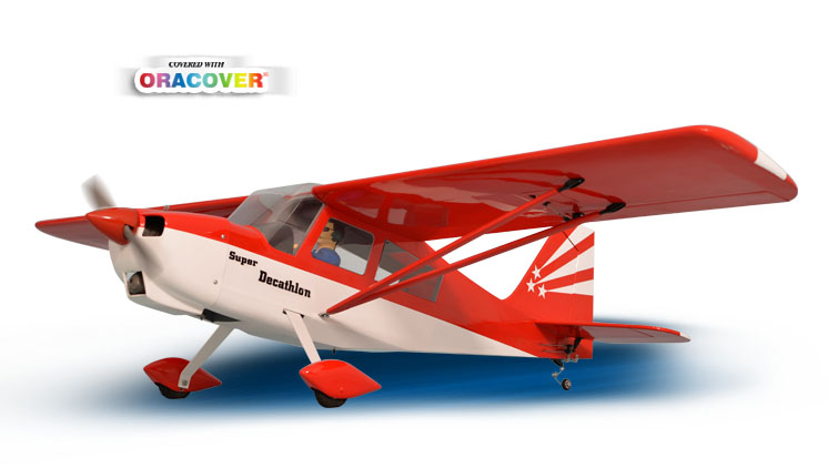AEROMODELO DECATHLON MK2 GP/EP 46/55 1:6 ARF PH127