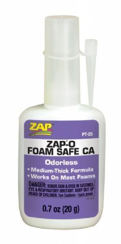 Cola ZAP ISOPOR ODORLESS FOAM SAFE - PT 25