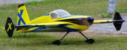 AEROMODELO SLICK 580 74  EXP Yellow/Blue EXTREME FLIGHT