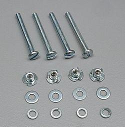 DUBR 128 - Conjunto de parafusos 6-32 x 1 1/4 (4)