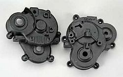 TRAX 5391X - Gearbox halves (front & rear)