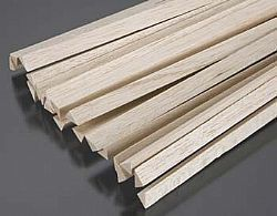 Balsa triangle stock 1-4X36 - MIDA 6707