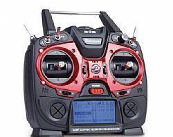 MZ-12 PRO 12 Channel 2.4 GHz Radio Transmissor Graupner Receptor Falcon12