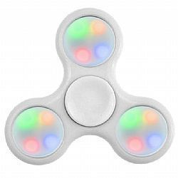 Hand Spinner com Led (BRANCO)