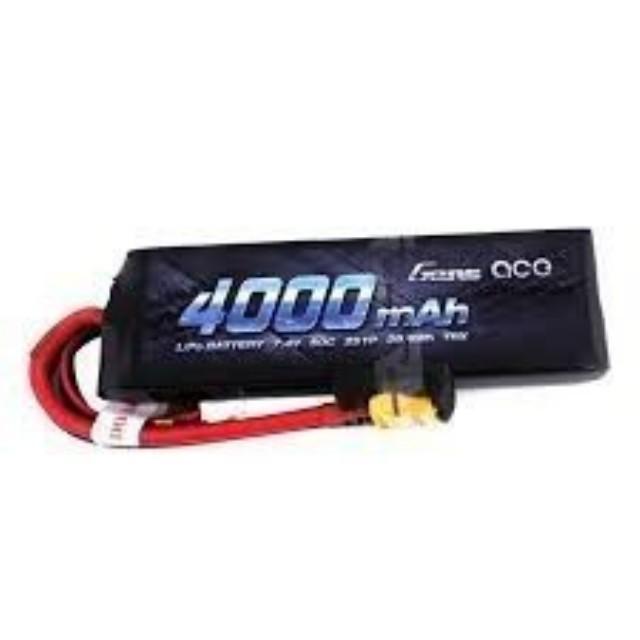 BATERIA GENS ACE 4000MAH 7.4V 50C 2S LIPO XT60