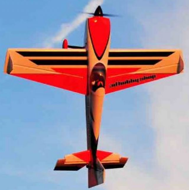 AEROMODELO 92 Edge 540 V2 - ORANGE SCHEME EXTREME FLIGHT