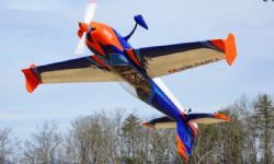 AEROMODELO 78 EXTRA 300 V3 Orange/Blue EXTREME FLIGHT