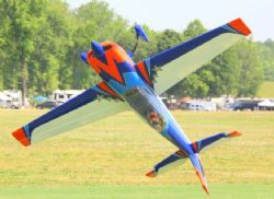AEROMODELO 104 EXTRA 300 V2 EXP ORANGE/WHITE/BLUE EXTREME FLIGHT