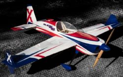 AEROMODELO 74 SLICK 580 EXP Red/White/Blue EXTREME FLIGHT
