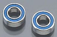 TRAX 7019 - Ball bearings, blue rubber sealed (4x8x3mm) (2)