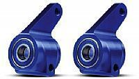 TRAX 3636A - Aluminum Steering Blocks Blue