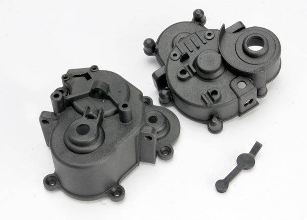 TRAX 5391 - Gearbox halves (front & rear)
